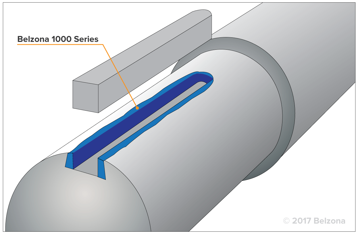 Oversized keyway repair drawing