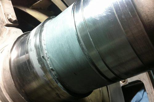 In Action: Shaft Repair Keeps Wind Turbine Spinning