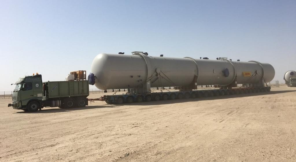 Process Vessel Corrosion Protection for 3rd Largest Oilfield