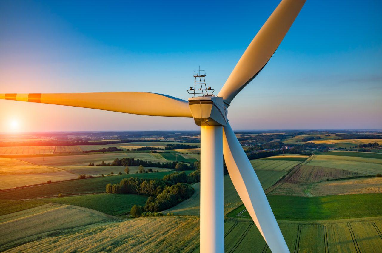Image of a wind turbine