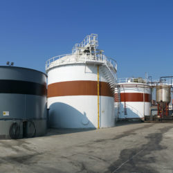Storage Tank Farm Provided With A Total Refurbishment