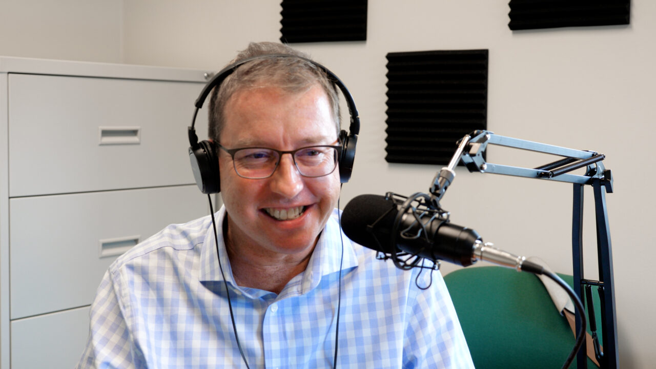 Joel Svendsen, President of the Belzona Group being interviewed for Episode 1 of The Belzona Podcast