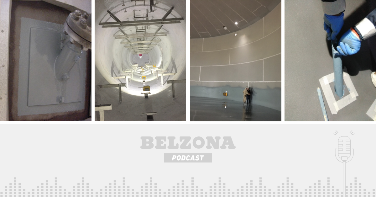 The Belzona Podcast – Episode 2: Benefits of High -Temperature Coatings