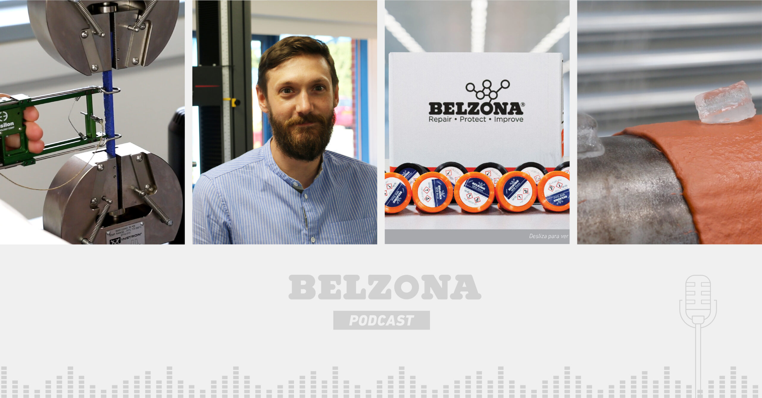 Read more about the article The Belzona Podcast – Episode 3: An Insight into Research & Development at Belzona