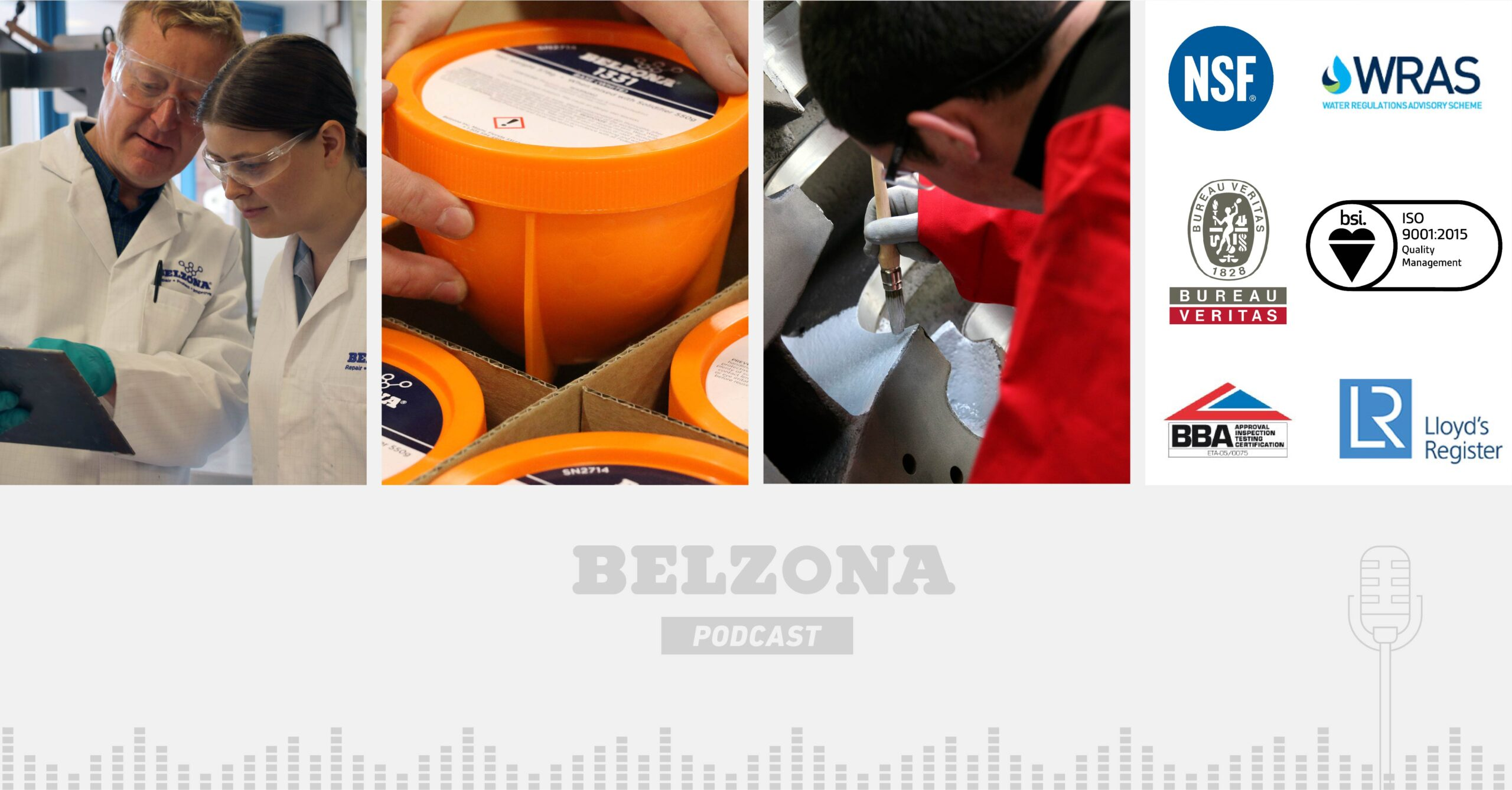 Read more about the article The Belzona Podcast – Episode 5: An insight into Quality Control Standards