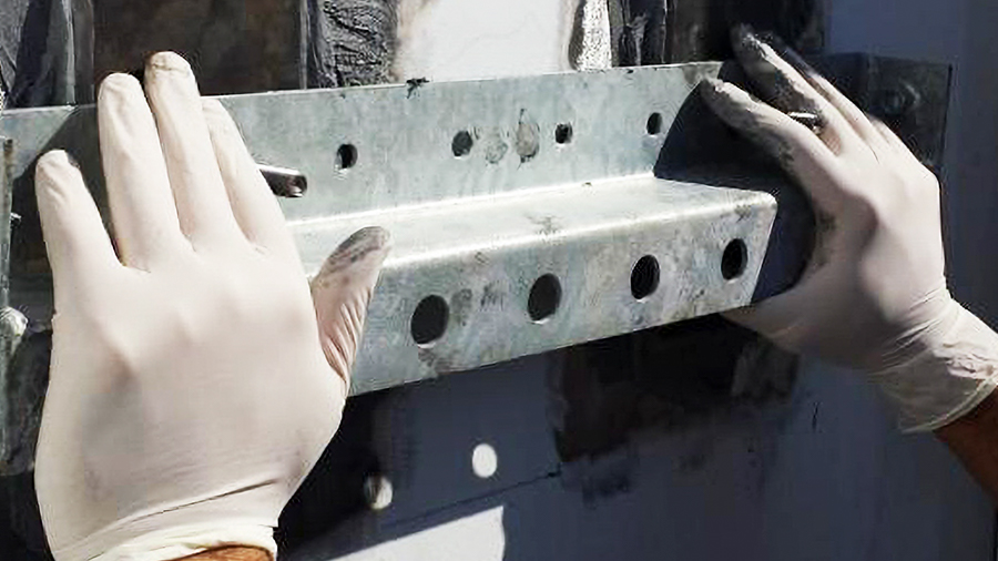 cold bonding solutions, crossbar being used to align mounting plates