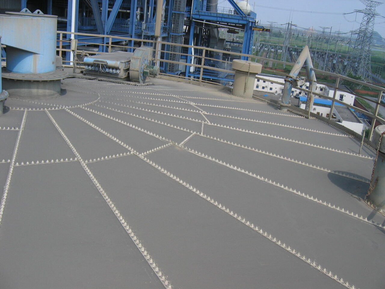 Joints sealed and substrate reinforced with Flexible Membrane system