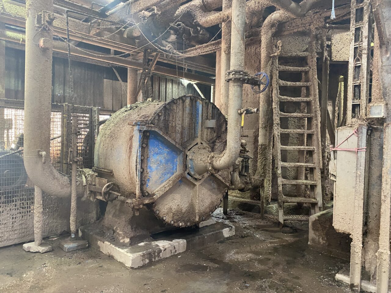Turbo separator at a Pulp and Paper Mill, Texas, U.S