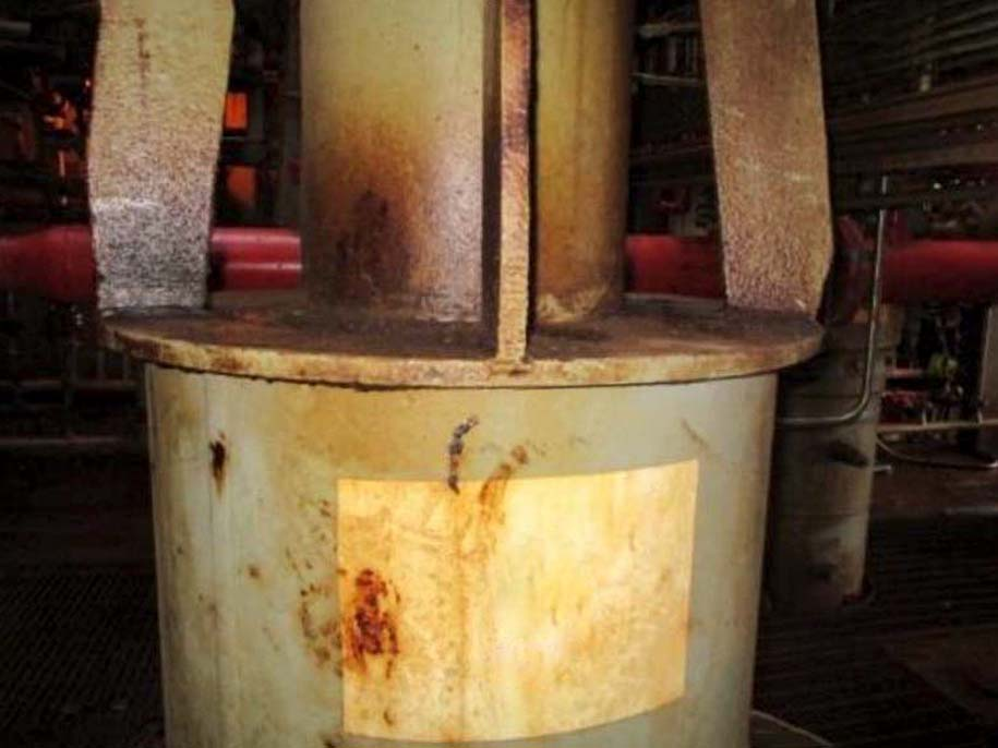 Affects of corrosion resulting in need for wellhead repair