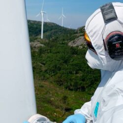 Belzona wind turbine repair